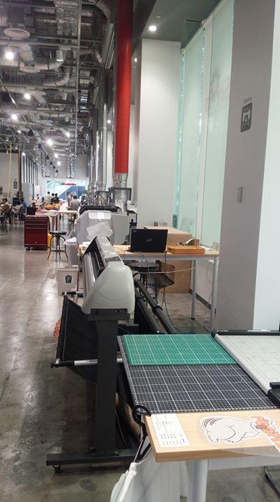 去年できたばかりというFABスペース、Techshop Tokyoに見学に行ってきました。