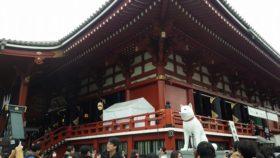 お正月の浅草寺は初めてかも。