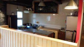 先日クラウドファンディングに成功したシェアキッチン、『基地キッチン』で打ち合わせ。