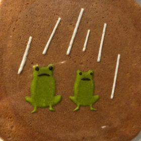 アイシングクッキーならぬ、アイシングせんべい。