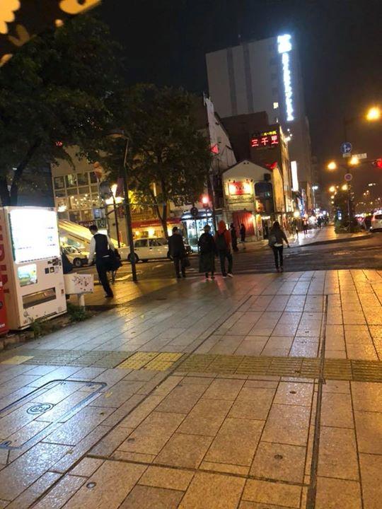 札幌は変わらずでした。