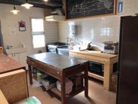 シェアキッチン「基地キッチン」の大掃除のあと、みんなで浅草へ。