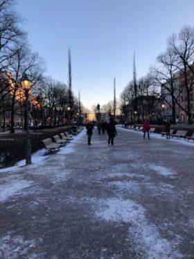 遠いと思っていたフィンランドも、たった10時間もあれば行けるんですね。