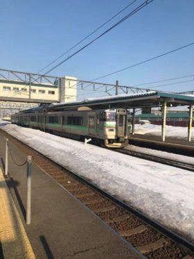 札幌で行われるトークイベントに来ています。