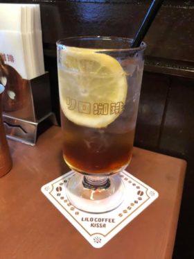 大阪のコーヒーやさんで面白いもの見つけました。